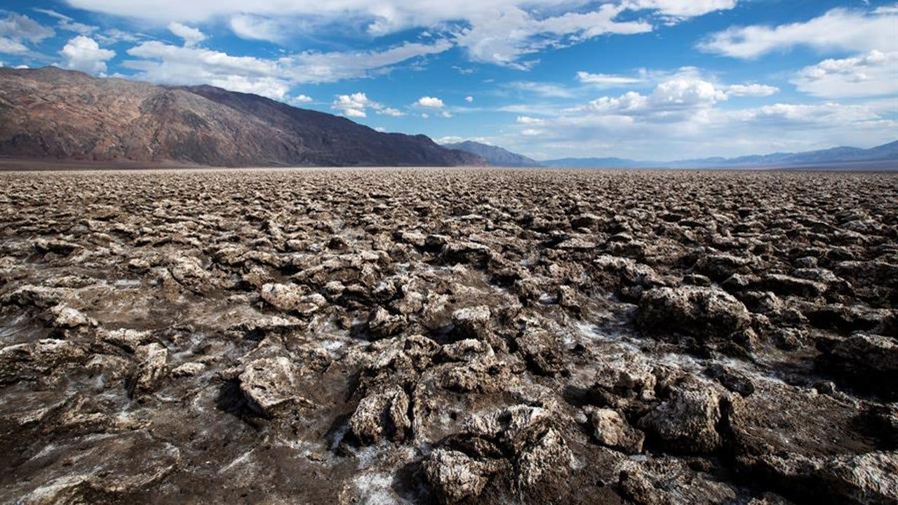 Death Valley es el Parque Nacional más grande de Estados Unidos, ubicado entre California y Nevada.