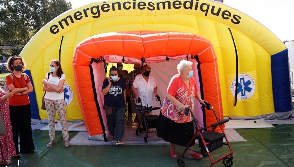 El Departamento catalán de Salud inicia un cribado en el barrio del Besòs i el Maresme