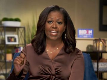 Michelle Obama, en la Convención Nacional Demócrata