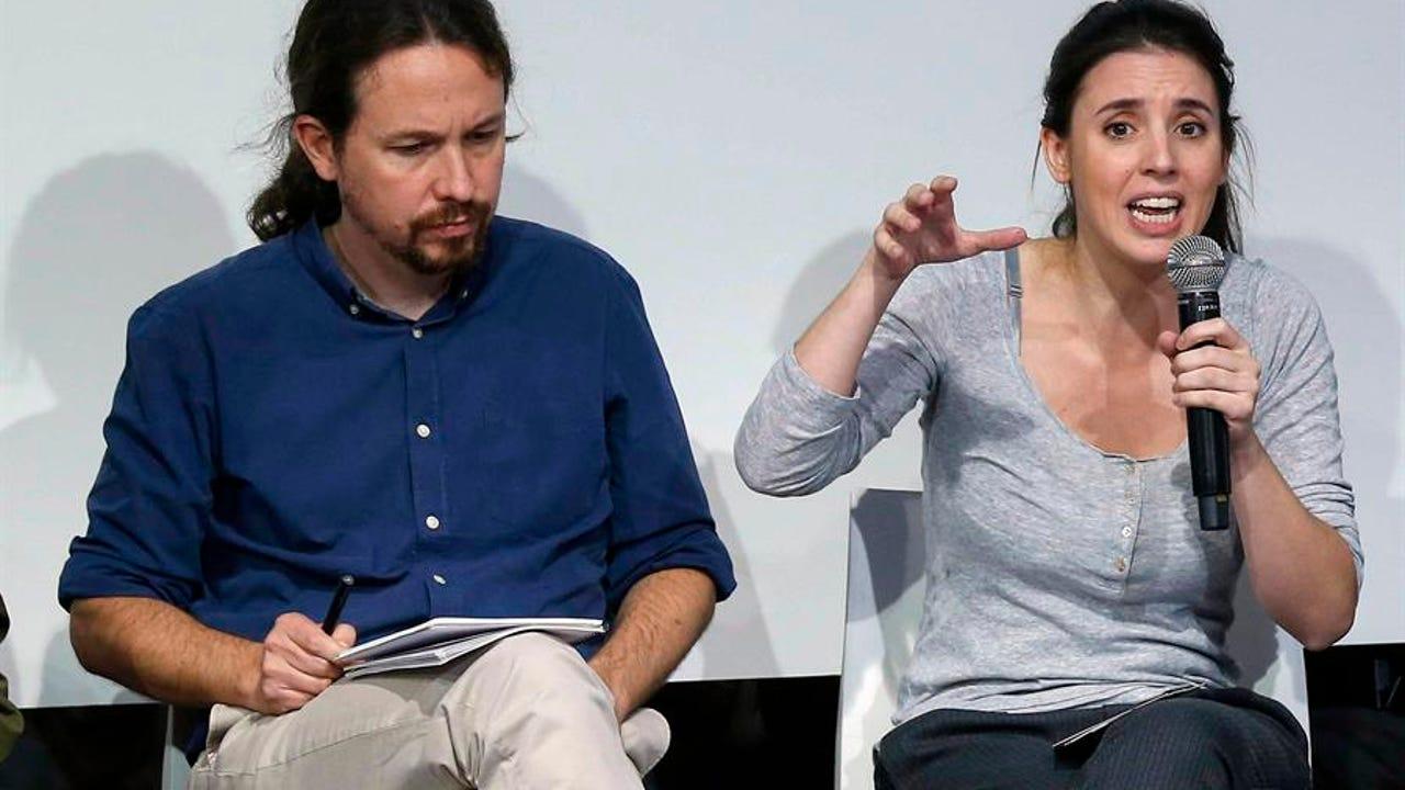 Pablo iglesias e Irene Montero en una foto de archivo.