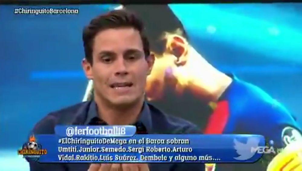 """Edu Aguirre: """"El Barça tiene ovejas negras en el vestuario"""""""