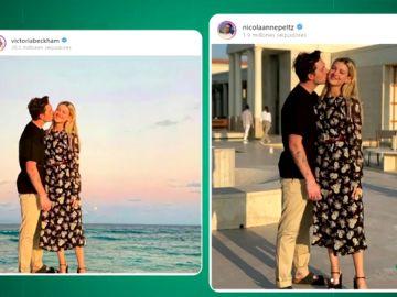 Nicola Peltz saca los colores a Victoria Beckham al desvelar el photoshop de su foto