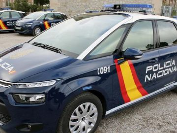 Coches de la Policía Nacional