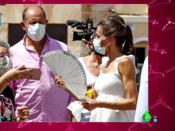 """¿Está la reina Letizia embarazada? Este es su look """"premamá"""" que hace saltar los rumores"""