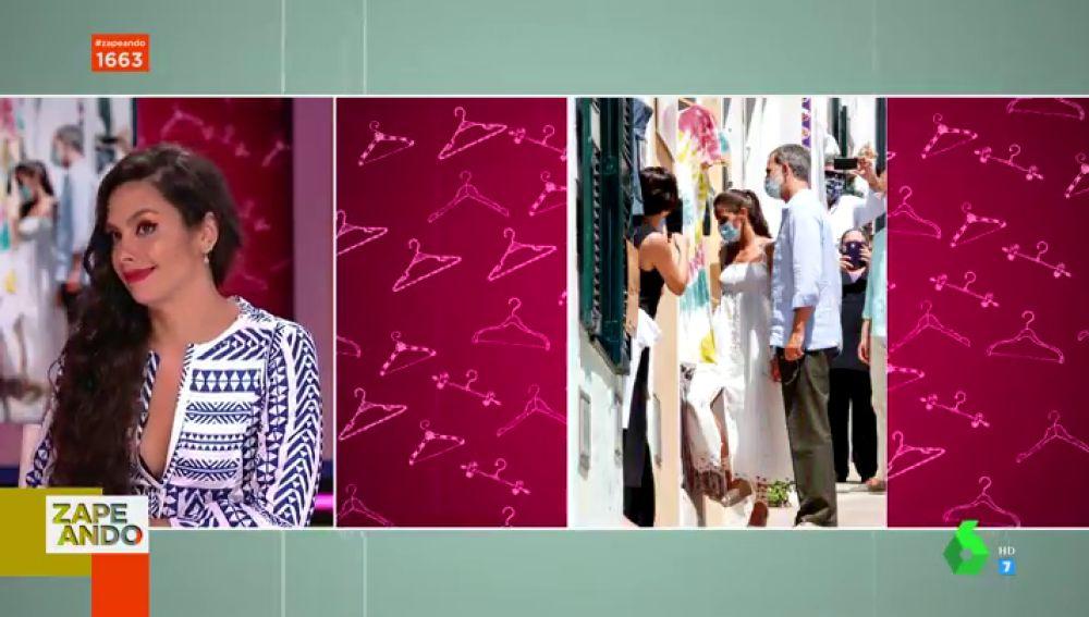 La reina Letizia, tras los pasos de Cristina Pedroche