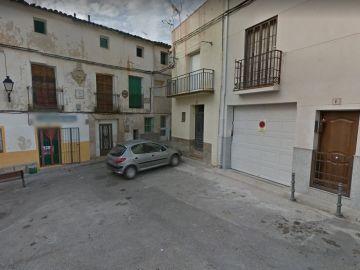Una de las calles de Ambite, el pueblo en el que tuvo lugar la reyerta