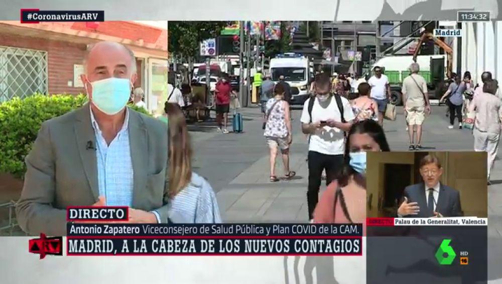 El viceconsejero de Salud Pública y Plan COVID de Madrid, Antonio Zapatero.