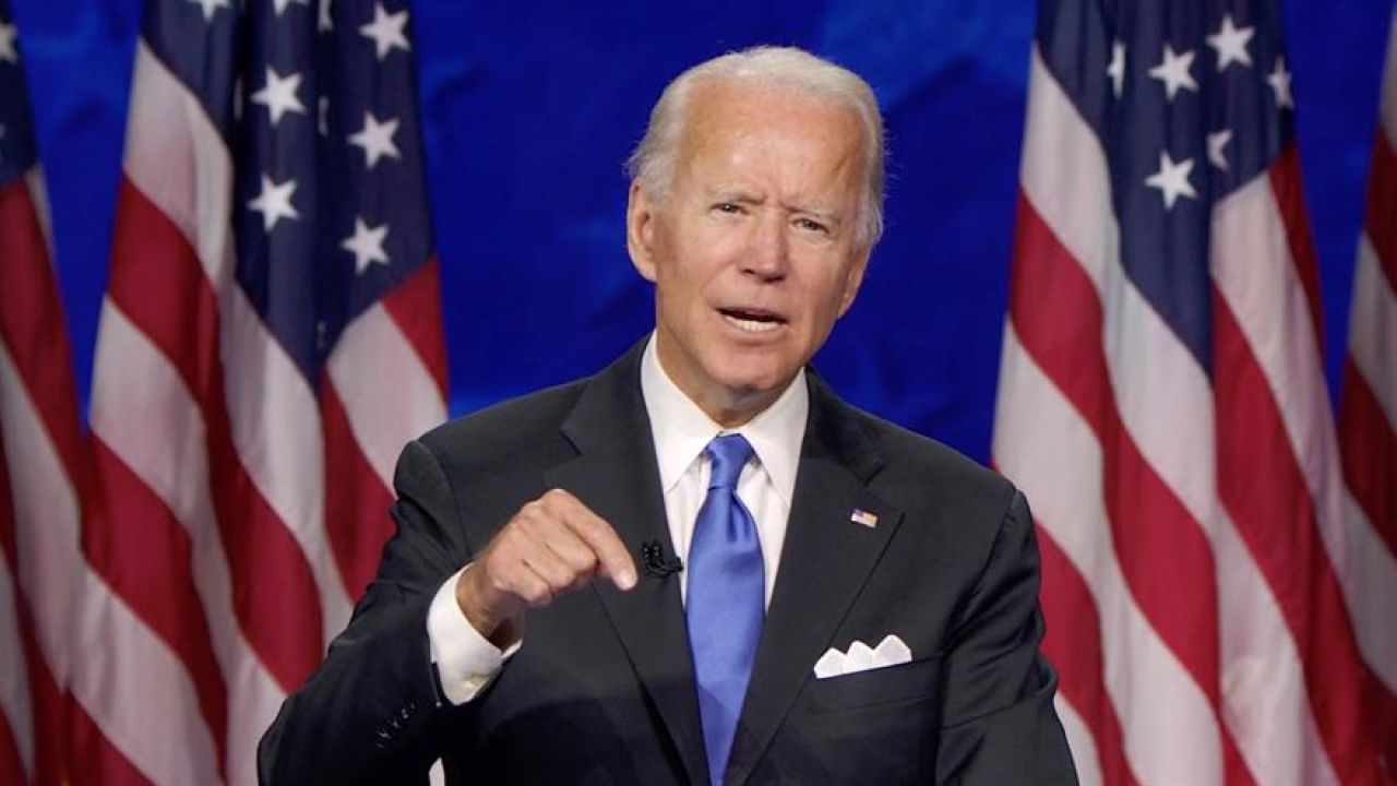 El candidato demócrata a la Presidencia de EEUU, Joe Biden