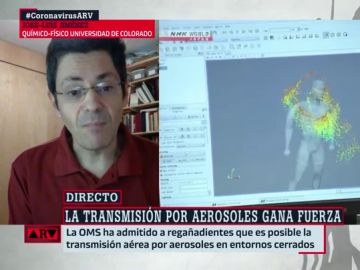 José-Luis Jiménez, experto en química-física de aerosoles atmosféricos de la Universidad de Colorado.