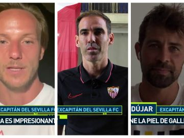 Rakitic, Navarro y Coke