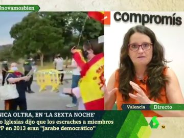 """Mónica Oltra: """"El acoso y señalamiento al vicepresidente y la ministra de Igualdad están fuera de las reglas democráticas"""""""