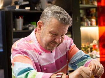 El cocinero Alberto Chicote, en acción