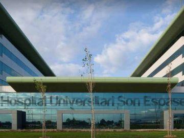 Vista de la fachada del Hospital Universitario de Son Espases.