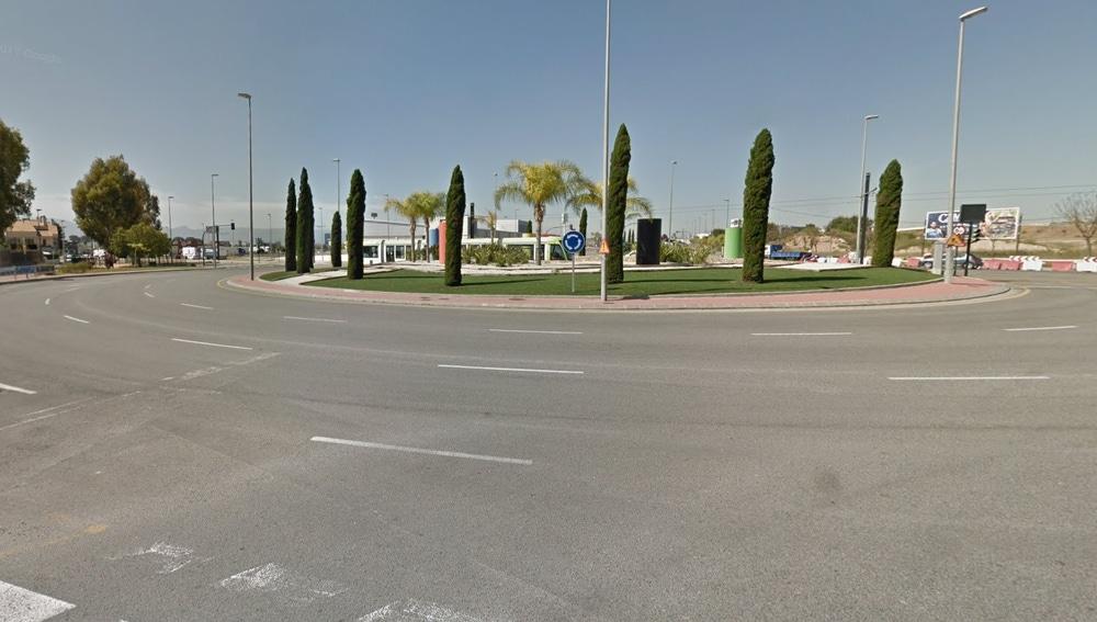 Imagen de una calle en Churra, Murcia