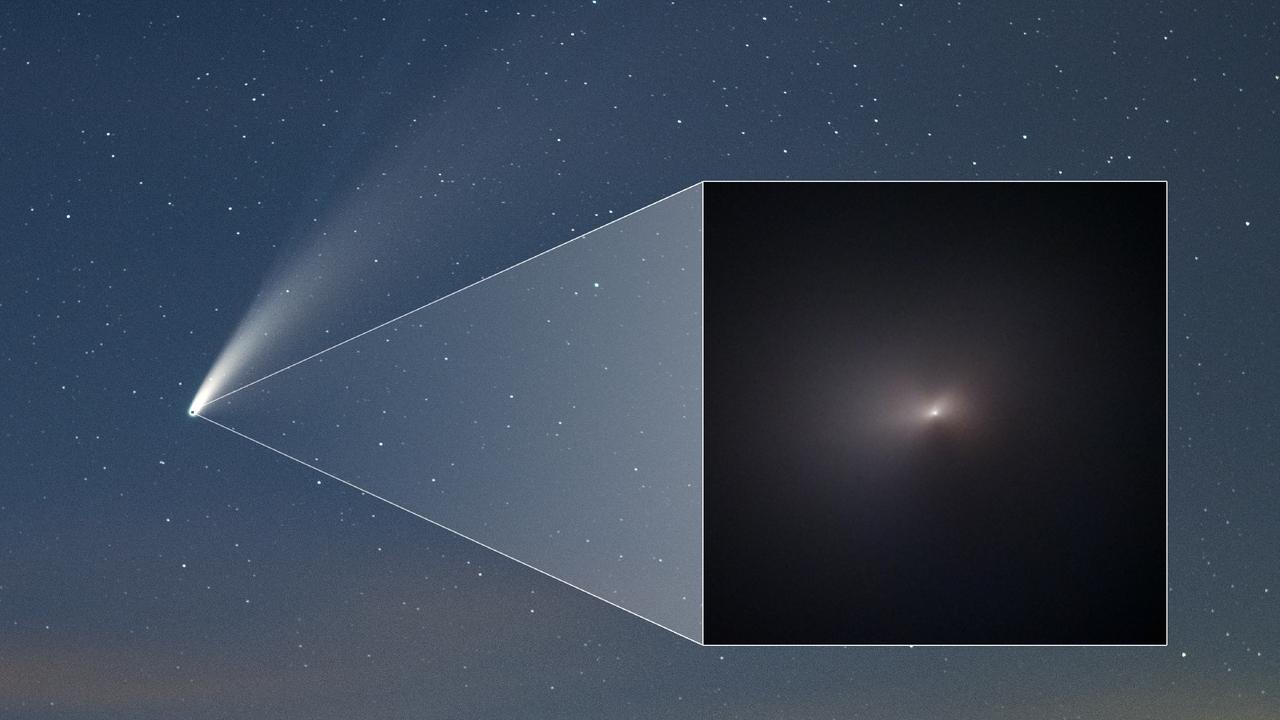 El cometa NEOWISE sobrevive al Sol: así lo demuestra esta imagen
