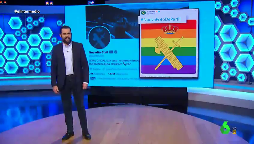 Dani Mateo 'calla' a golpe de tuit a Vox y a Abogados Cristianos tras criticar el apoyo de la Guardia Civil al colectivo LGTBI