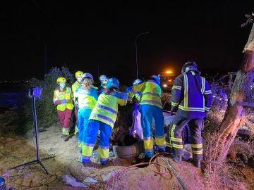 Accidente de coche en Móstoles