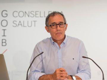 El portavoz del Comité Autonómico de Gestión de Enfermedades Infecciosas de Baleares, Javier Arranz