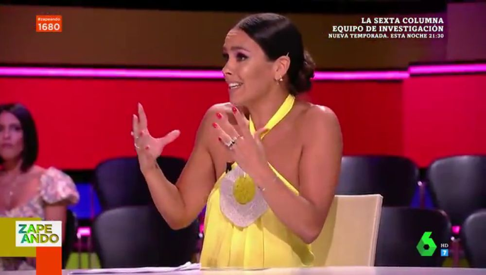 """El espectacular vestido amarillo de Cristina Pedroche de Ágatha Ruiz de la Prada con guiño ecologista: """""""