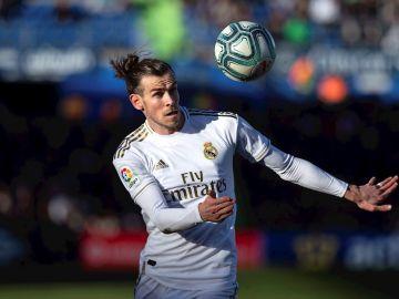 Gareth Bale, con el Real Madrid