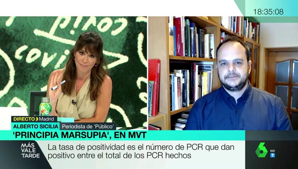 ¿Qué es la tasa de positividad?: el indicador más fiable del estado de la pandemia en España
