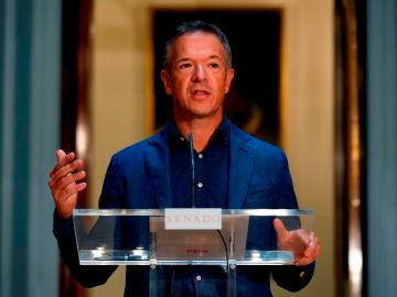 El portavoz del PSOE en el Senado, Ander Gil