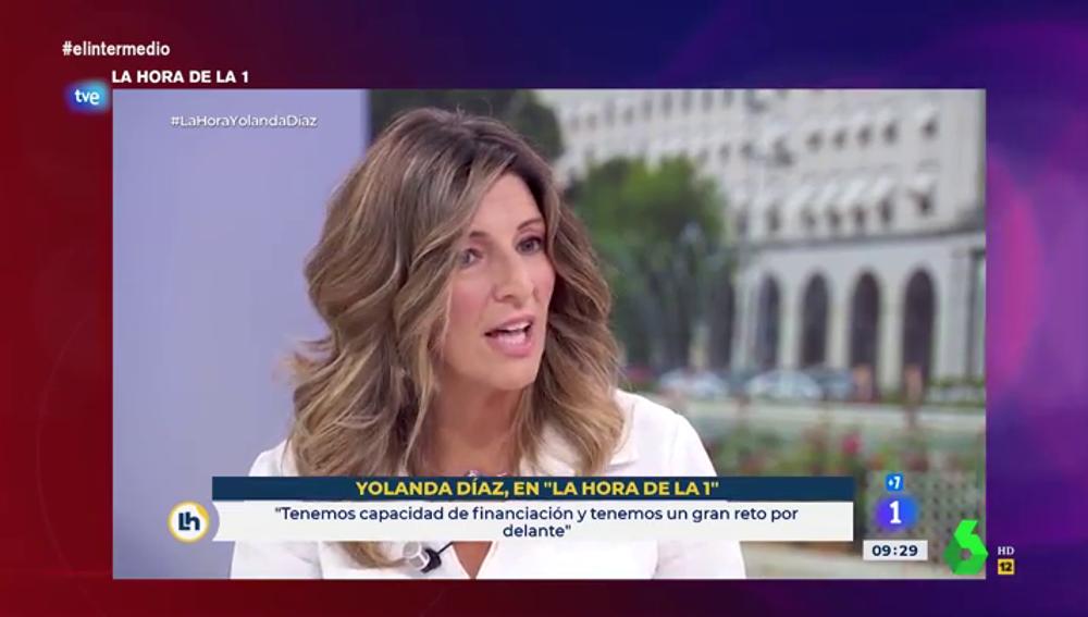 """Las virales palabras de Yolanda Díaz sobre la jubilación: """"Aumentar la edad de jubilación entorpece la incorporación de jóvenes"""""""