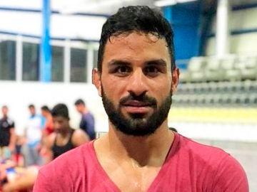 El luchador iraní Navid Afkari