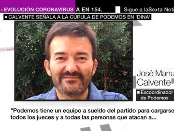 José Manuel Calvente, exabogado de Podemos