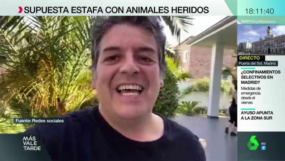 Detenido por estafar 700.000 euros en donativos para curar animales