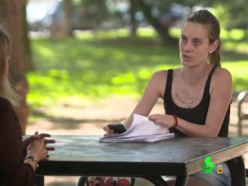 Tamara Medel, solicitante del Ingreso Mínimo Vital