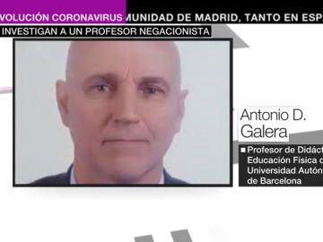 Investigan a un profesor negacionista de la Universidad Autónoma de Barcelona