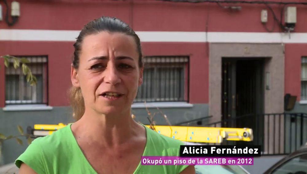 """El duro relato de Alicia, que okupó un piso de la SAREB por """"necesidad"""": """"Es un sinvivir"""""""