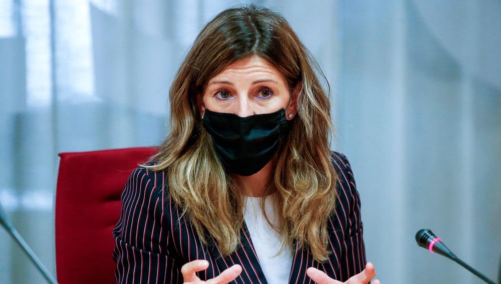La ministra de Trabajo y Economía Social, Yolanda Díaz