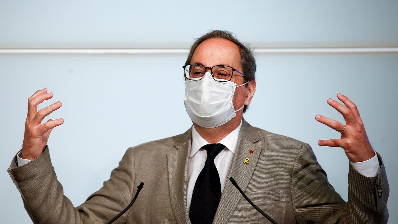 El presidente de la Generalitat, Quim Torra, en una imagen de archivo
