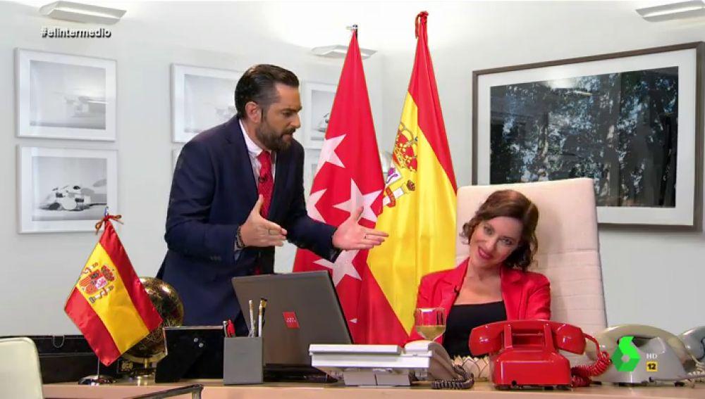 """El vídeo que 'revela' cómo ideó Ayuso su frase """"Madrid es España"""""""