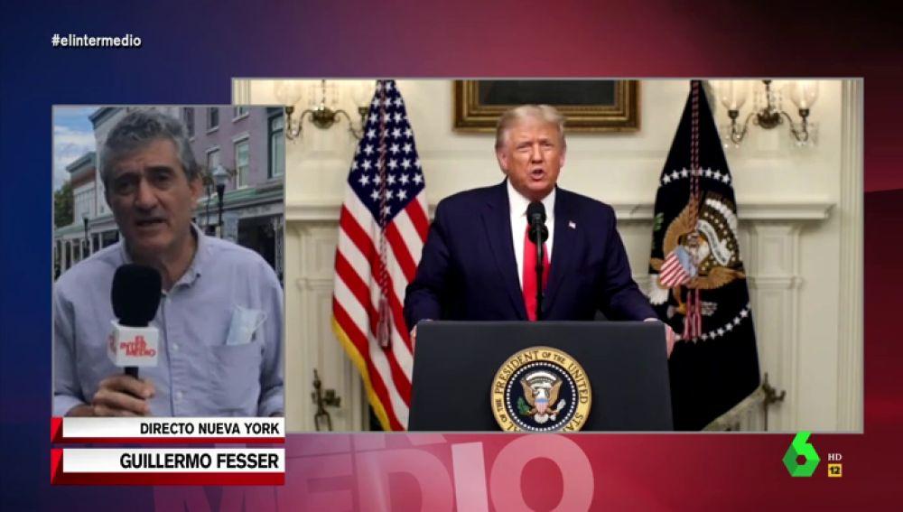 El historial fiscal de Trump le 'ahoga' un mes antes de las elecciones: Fesser explica por qué Hacienda apunta al presidente