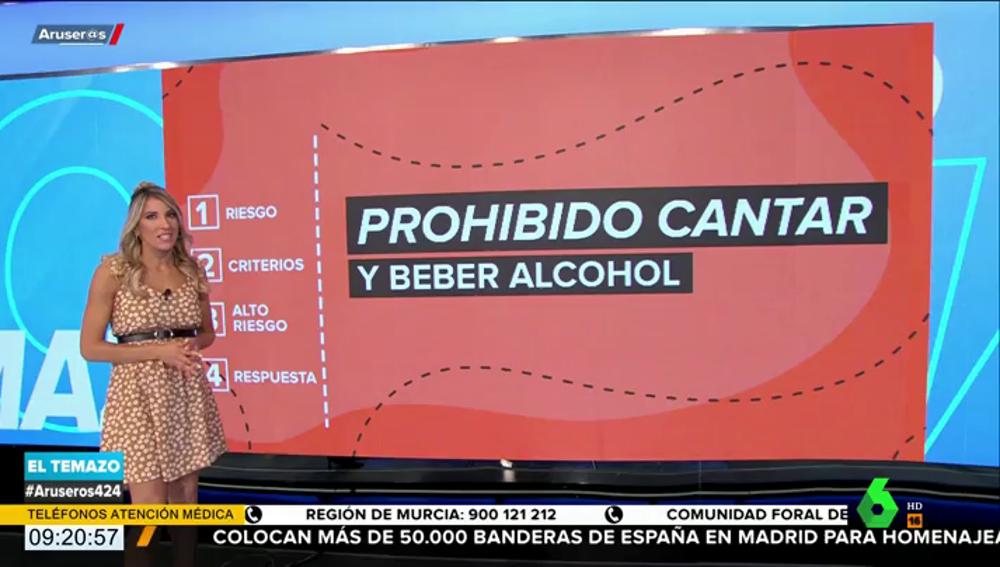 Prohibido cantar y beber alcohol: Sanidad pide cancelar eventos que supongan un alto riesgo de contagio por COVID-19