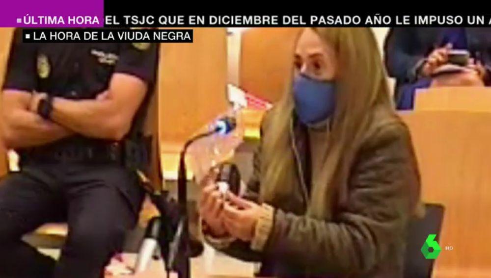 """Declara la 'viuda negra' de Alicante, acusada de asesinar a su marido dependiente días después de la boda: """"Me dijo que había sido su hijo"""""""