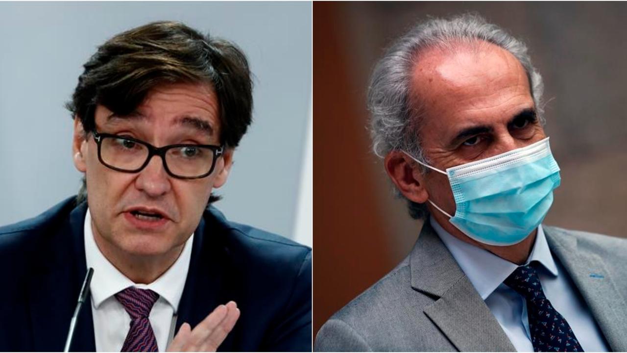 Salvador Illa y Enrique Ruiz Escudero se reúnen hoy para desbloquear la crisis del coronavirus en Madrid