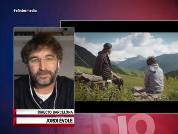El periodista Jordi Évole en El Intermedio.