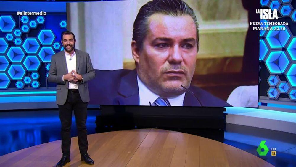 Dani Mateo en el plató de El Intermedio.