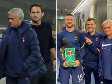Mourinho, Lampard y Dier