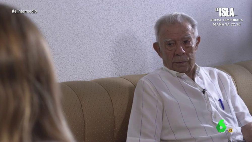 Julián López busca a su padre, asesinado por el franquismo, a sus 91 años.
