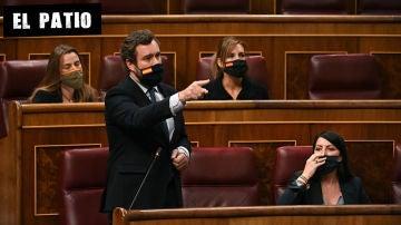 El portavoz de Vox en el Congreso, Iván Espinosa de los Monteros