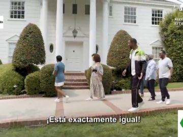 Will Smith vuelve a ser el 'Príncipe de Bel Air': así es su reencuentro con la casa de la serie 30 años después