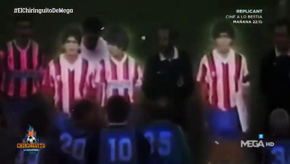 El día que los hermanos Maradona jugaron con el Granada CF frente al Malmö