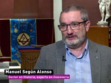 Manuel Alonso, doctor en Historia y experto en masonería