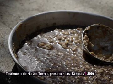 Las 'lentejas de negrín', el precario alimento que recibían las presas de la cárcel de Ventas