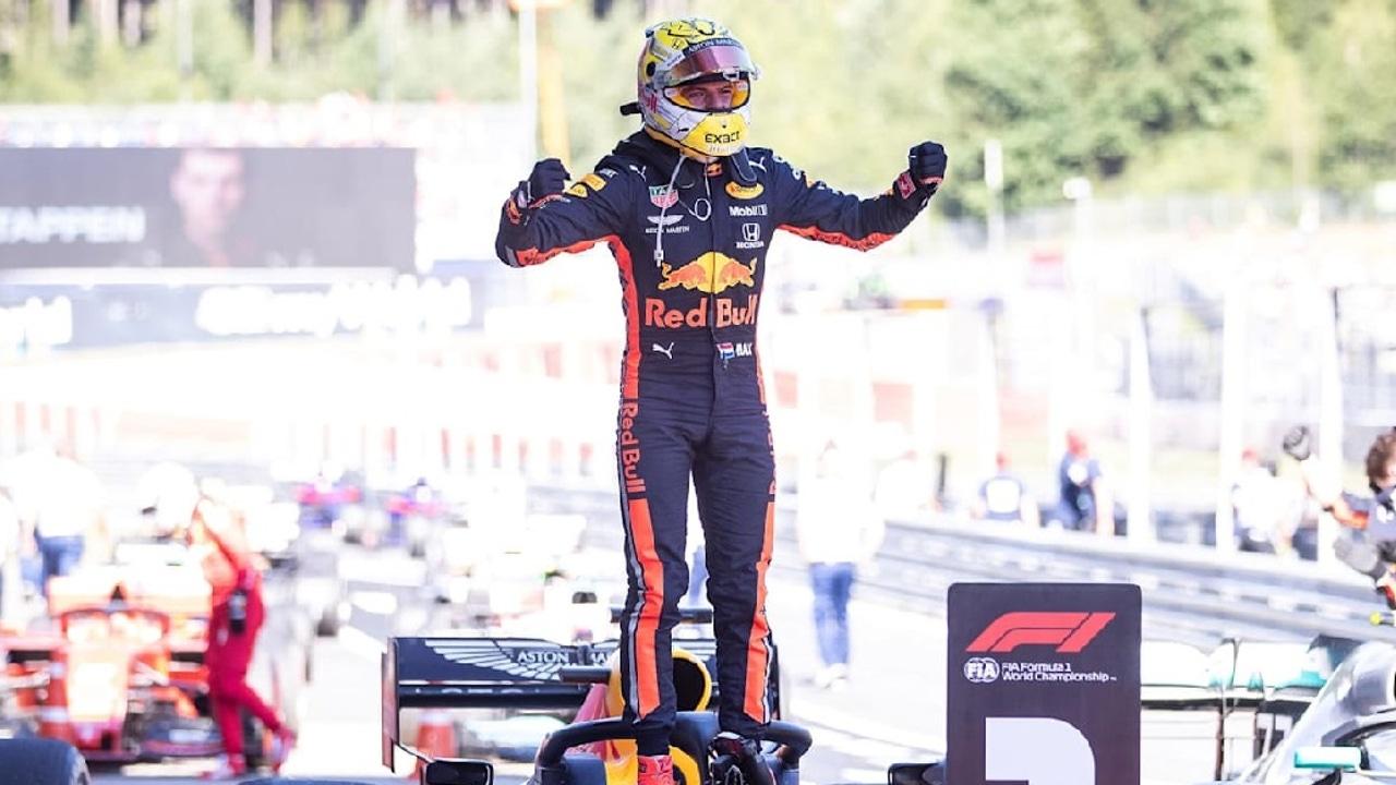 Victoria Max Verstappen Austria2019